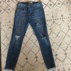 "Madewell 9"" High-Rise Skinny Jeans"